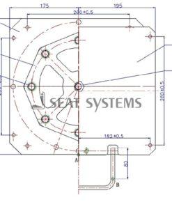Seat Swivel MOTORHOME - CAMPERVAN