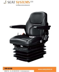 Deluxe Pneumatic Suspension Seat