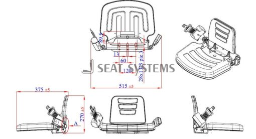 Buddy - Passenger - Instructional Tractor Seat