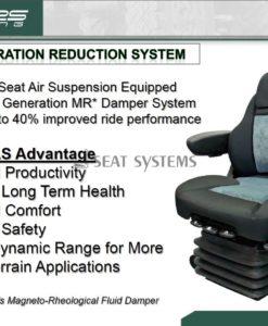 SEARS Active Suspension Seat - 1,950 Inc VAT
