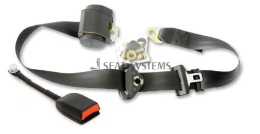 DAF LKW 3 Point Automatic belt Seat belt Buckle stalk 11 13/16in With E Test